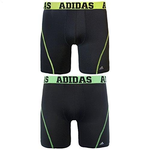adidas Men/'s 9-in Sport Performance ClimaCool Midway Underwear Pack of 2