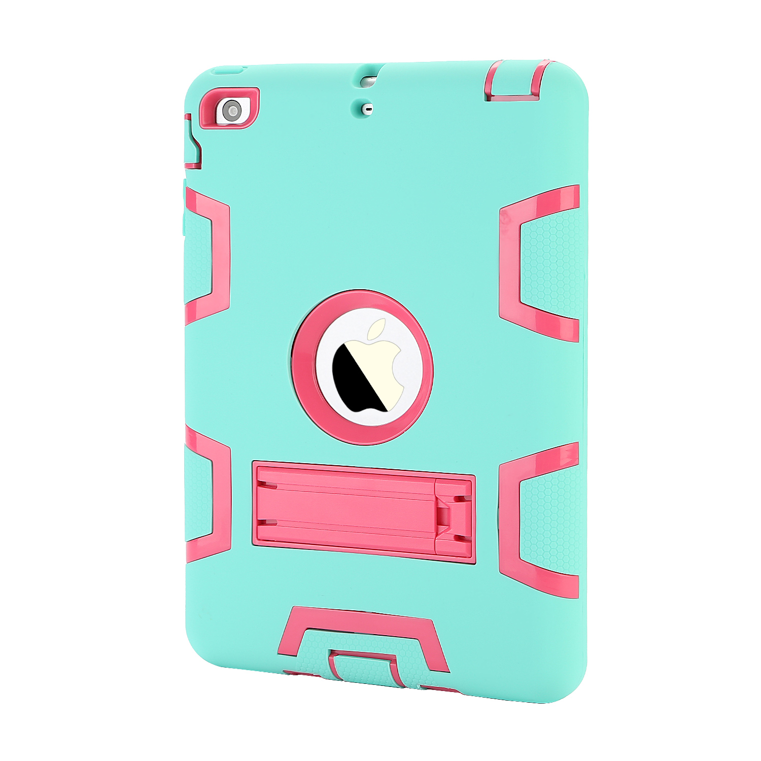 TKOOFN IPad mini Kids heavy duty Shockproof stand ubber Tough case cover for Apple iPad mini 123