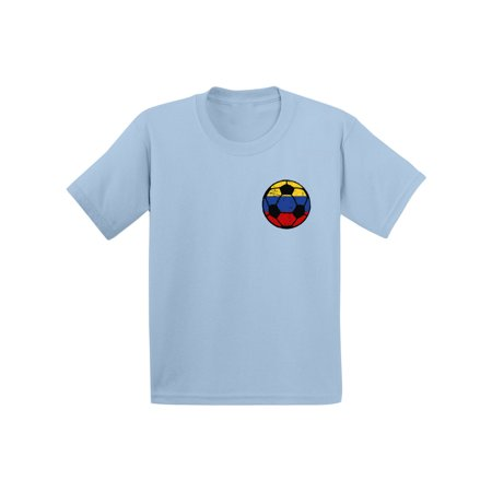 Awkward Styles Colombia Soccer Toddler Shirt Colombia Toddler Soccer Team Colombia Shirts Colombian Flag Gifts Colombia Soccer Ball Shirt for Boys Colombia Tshirt for Girls Gifts from - Soccer Team Gifts