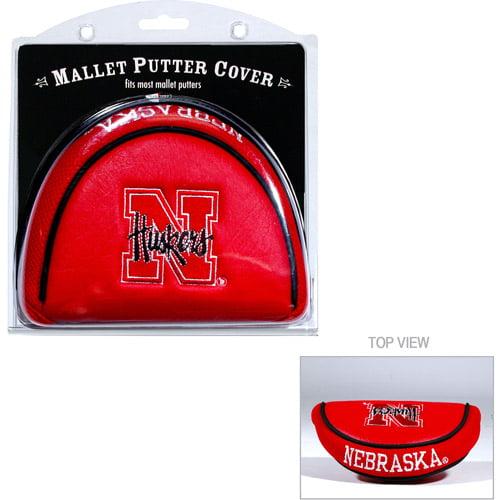 Team Golf NCAA Nebraska Golf Mallet Putter Cover