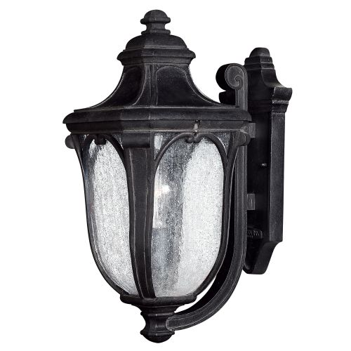 "Hinkley Lighting 1314-GU24 17"" Height 1 Light Lantern Fluorescent Outdoor Wall Sconce from the Trafalgar Collection"
