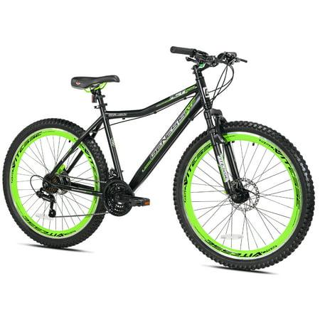 Genesis 27.5u0022 RCT Mens Mountain Bike, Black/Green