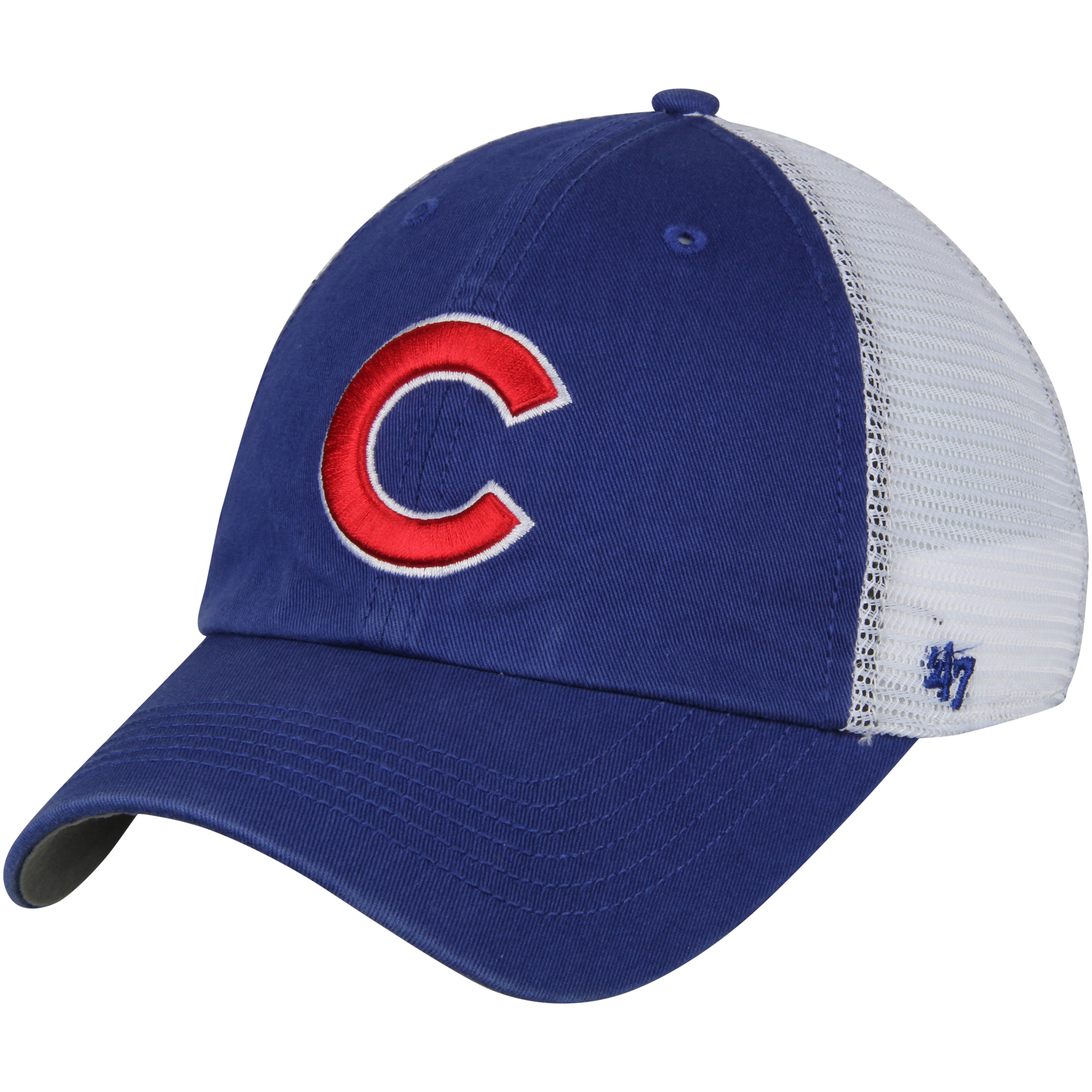 Chicago Cubs '47 Blue Hill Closer Flex Hat - Royal/White - OSFM