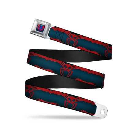 Amazing Spiderman Suit (Marvel Amazing Spiderman Seatbelt Belt - 2099 Suit Logo)