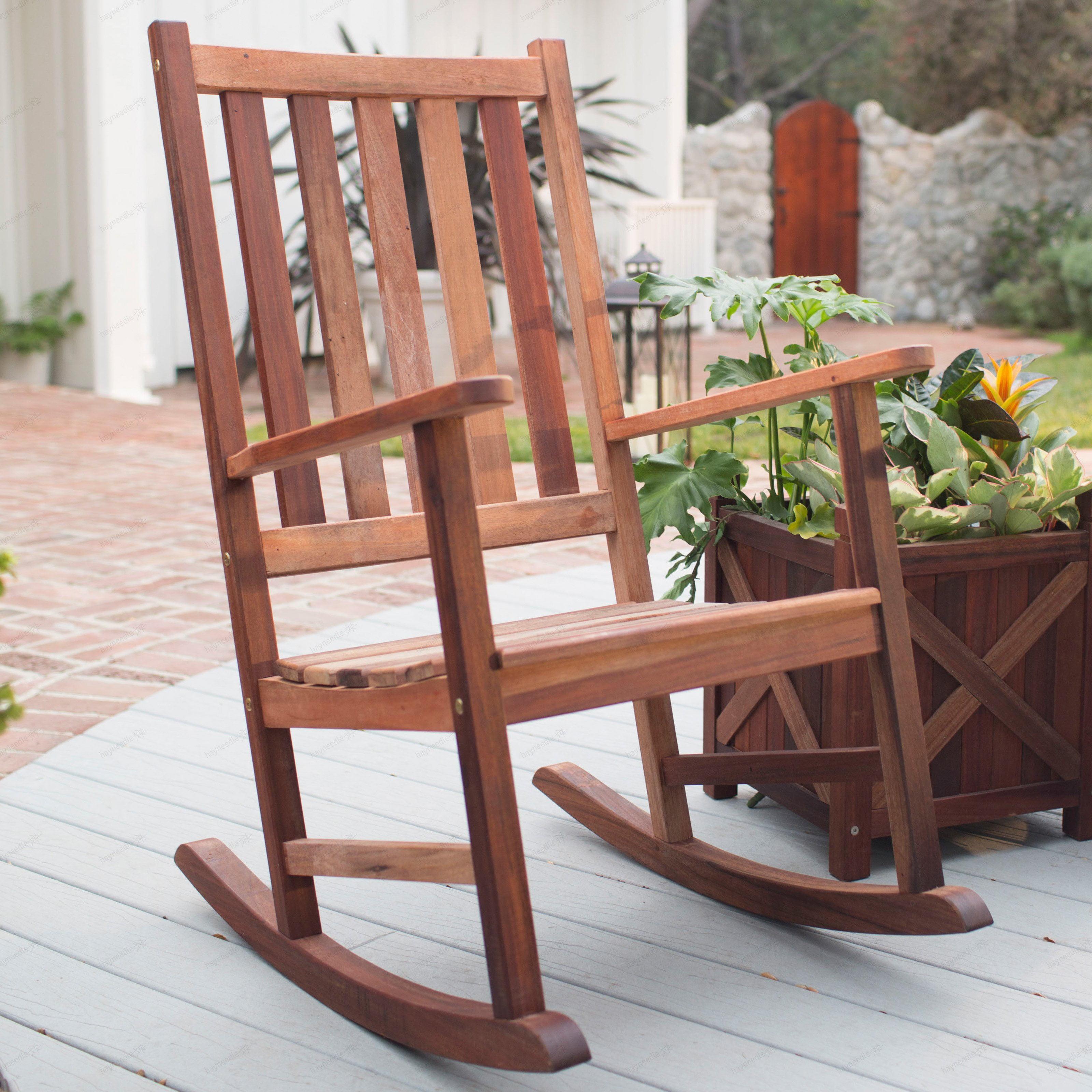 Belham Living Richmond HeavyDuty Outdoor Wooden Rocking Chair