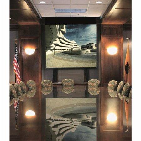 Draper Matte White: Envoy Electric Screen  - NTSC 150'' diagonal