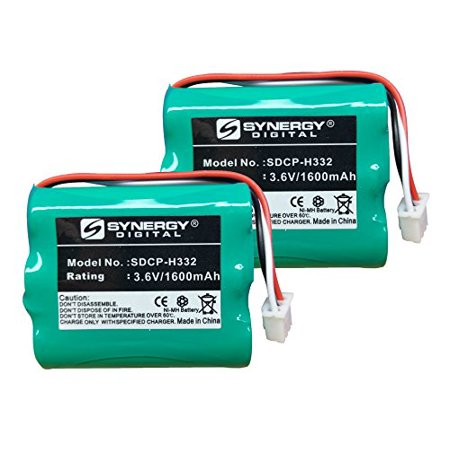 Huawei HGB-15AAX3 Cordless Phone Battery Combo-Pack includes: 2 x SDCP-H332 Batteries 2 X Phone Battery