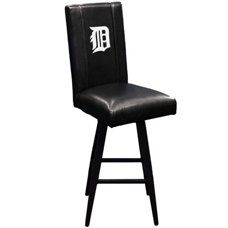 Detroit Tigers MLB Bar Stool Swivel 2000 with White Logo Panel ()