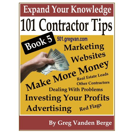 Five 52 Contractors Design (101 Tips For Contractors: Book 5 -)