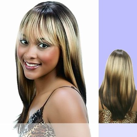 Synthetic Wig Patchy by Motown Tress Color 4P270 - image 1 of 1