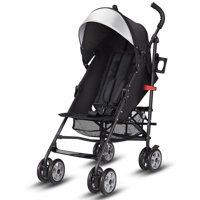 Costway Folding Lightweight Baby Toddler Umbrella Travel Stroller w/ Storage Basket