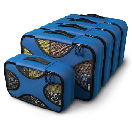 Pak - 5 Set Packing Cubes - Medium/Small - Luggage Packing Travel