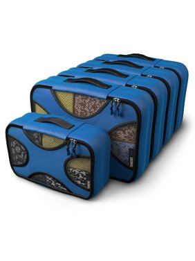 Product Image Pak - 5 Set Packing Cubes - Medium/Small - Luggage Packing Travel Organizers