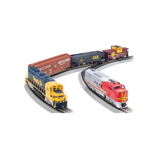 Bachmann Trains Digital Commander, HO Scale Ready-To-Run Electric Train Set With GP40 and FT Diesel... by Bachmann Trains