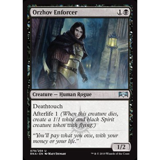 Mtg Ravnica Allegiance Orzhov Enforcer Walmart Com Walmart Com With the chaturbate tokens generator, you can generate unlimited free tokens. mtg ravnica allegiance orzhov enforcer