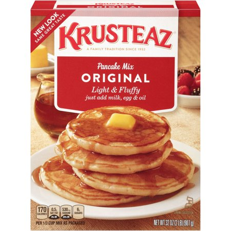 Krusteaz Original Pancake Mix, 32-Ounce Box