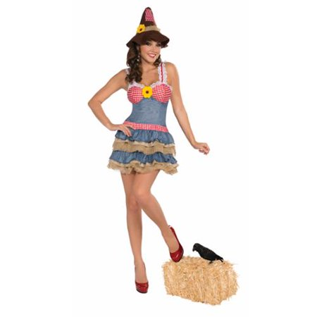 Sexy Scarecrow Costume Dress Adult - Adult Scarecrow Costumes