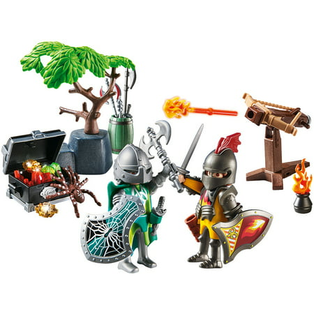 PLAYMOBIL Knight's Treasure Battle and Figure Pack Playset Playmobil Falcon Knights Castle
