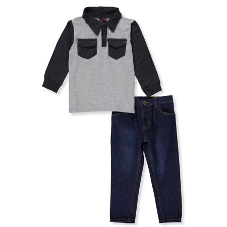 Tuff Guys Boys' 2-Piece Pants Set Outfit - 70s Outfits For Guys