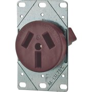 Eaton Cooper Wiring 50A 3 Wire Range Receptacle