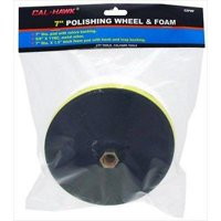 """7"""" Buffing Wheel and Foam Back Backing Pad for Electric Car Auto Polisher"""