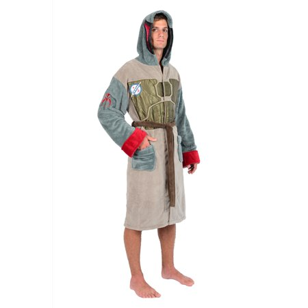 Disney Star Wars Officially Licensed Adult - Men's And Women's - Fleece Robes - Adult Robes