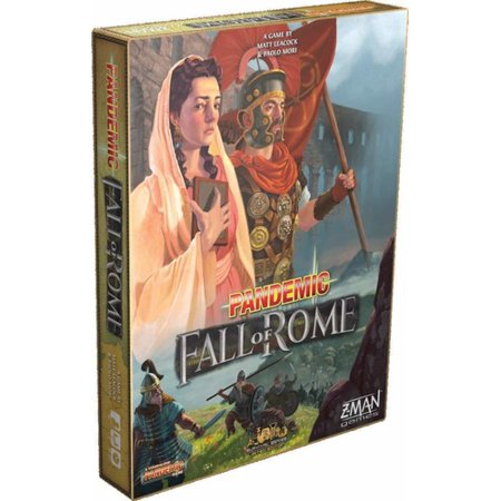 Pandemic: Fall of Rome Strategy Board Game (Halloween Games For A Fall Festival)