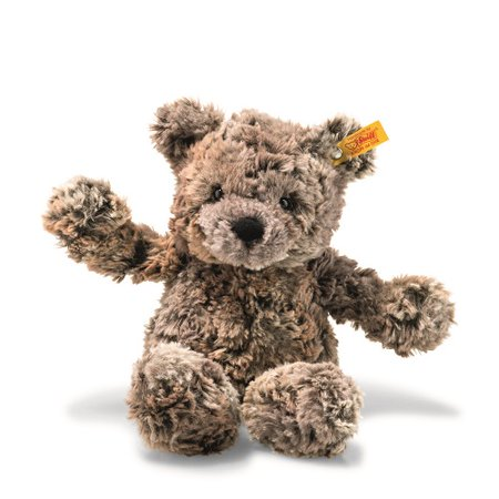 Terry Teddies - Steiff - Soft and Cuddly Terry the Teddy Bear, Mottled Brown, 11 inches (113451)