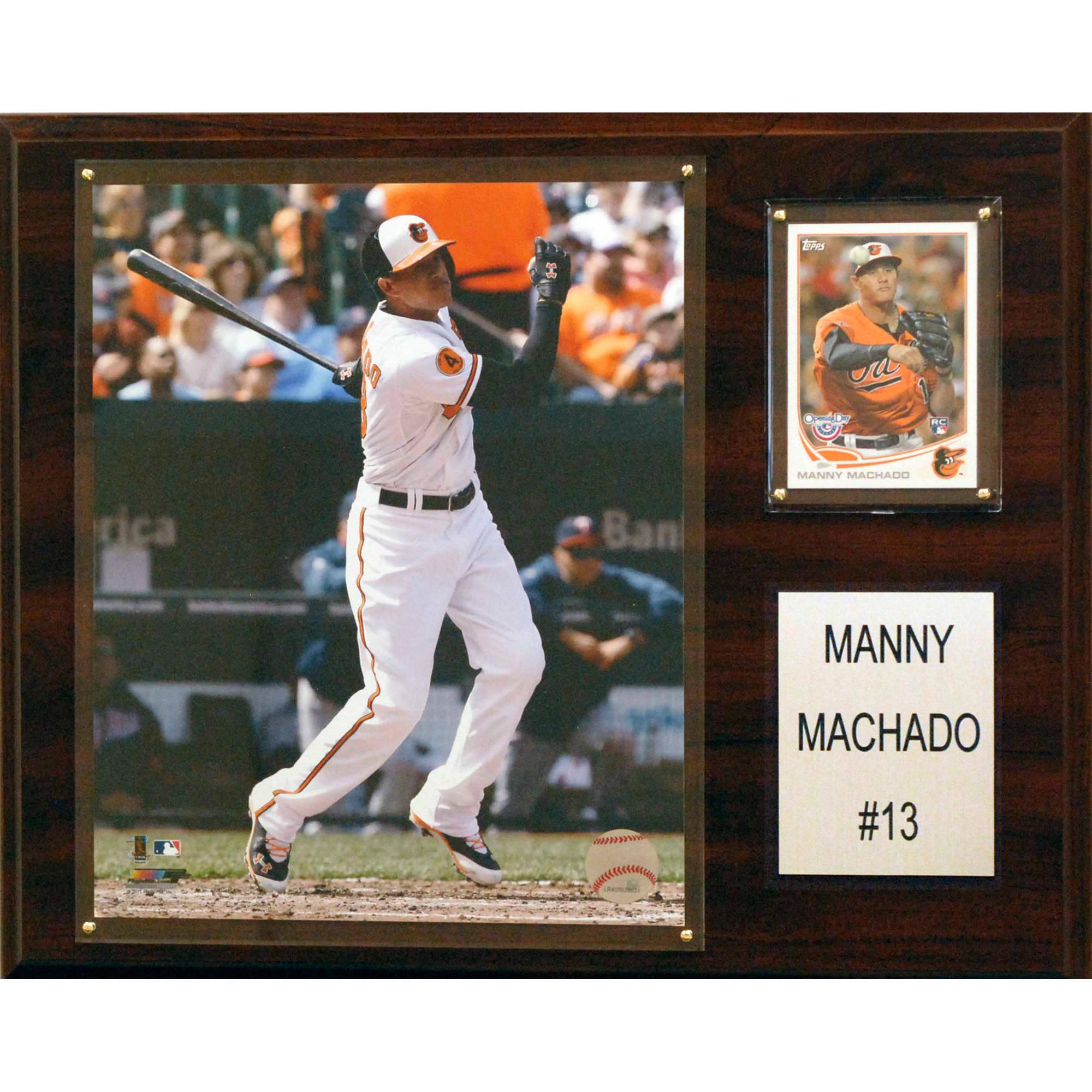 C&I Collectables MLB 12x15 Manny Machado Baltimore Orioles Player Plaque