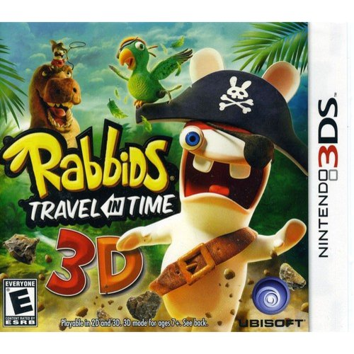 Raving Rabbids Travel in Time Nintendo 3DS by Ubisoft