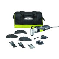 Rockwell RK5142K Sonicrafter F50 4.0 Amp Oscillating Multi-Tool 33-Piece Kit with Bag, Variable Speed, Hyperlock Clamping, Low Vibration and Universal Fit System