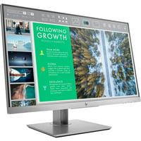 "HP EliteDisplay 24"" IPS Panel 1920x1200 VGA HDMI DP 60hz 5ms HD LED Monitor - E243"