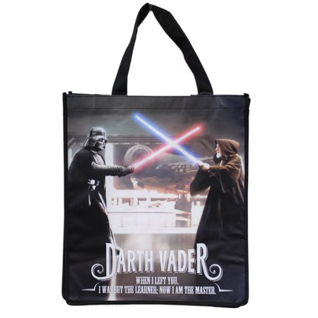 Star Wars Darth Vader and Obi-Wan Kenobi Light Saber Duel Tote Bag](Star Wars Tote)