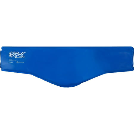 Chattanooga ColPac Cold Therapy, Blue Vinyl, Neck Contour Cold Pack