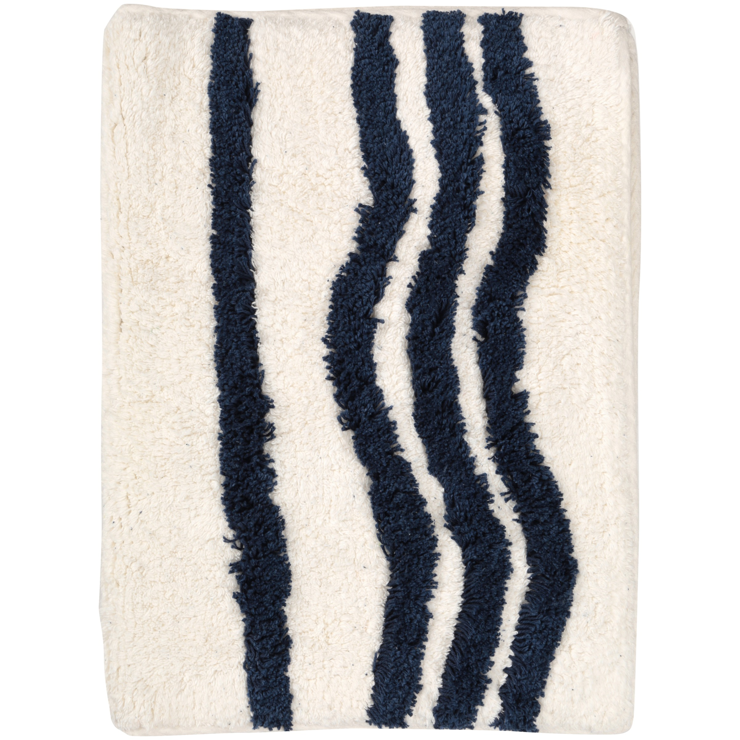 Mainstays Cotton Striped Bath Rug by Idea Nuova