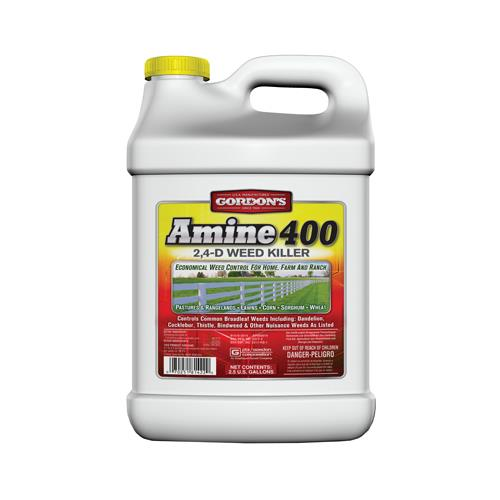 Pbi Gordon 8141122 Amine 400 Weed Killer, 2,4-D, 2.5-Gal. Concentrate