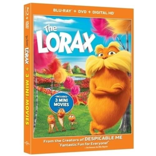 Dr. Seuss' The Lorax (3D Blu-ray + Blu-ray + DVD + UltraViolet) (With INSTAWATCH) (Widescreen)
