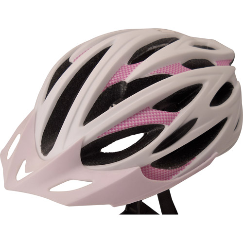 Zefal White/Purple Cycling Helmet, Adult