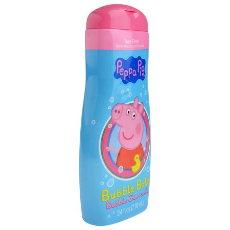 Peppa Pig Bubble Gum Scented Bubble Bath, 24 Fl. Oz.