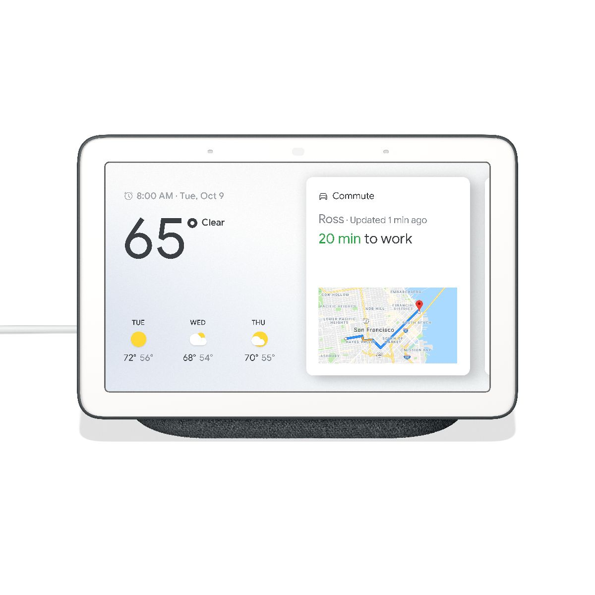 Google Home Hub- Chalk