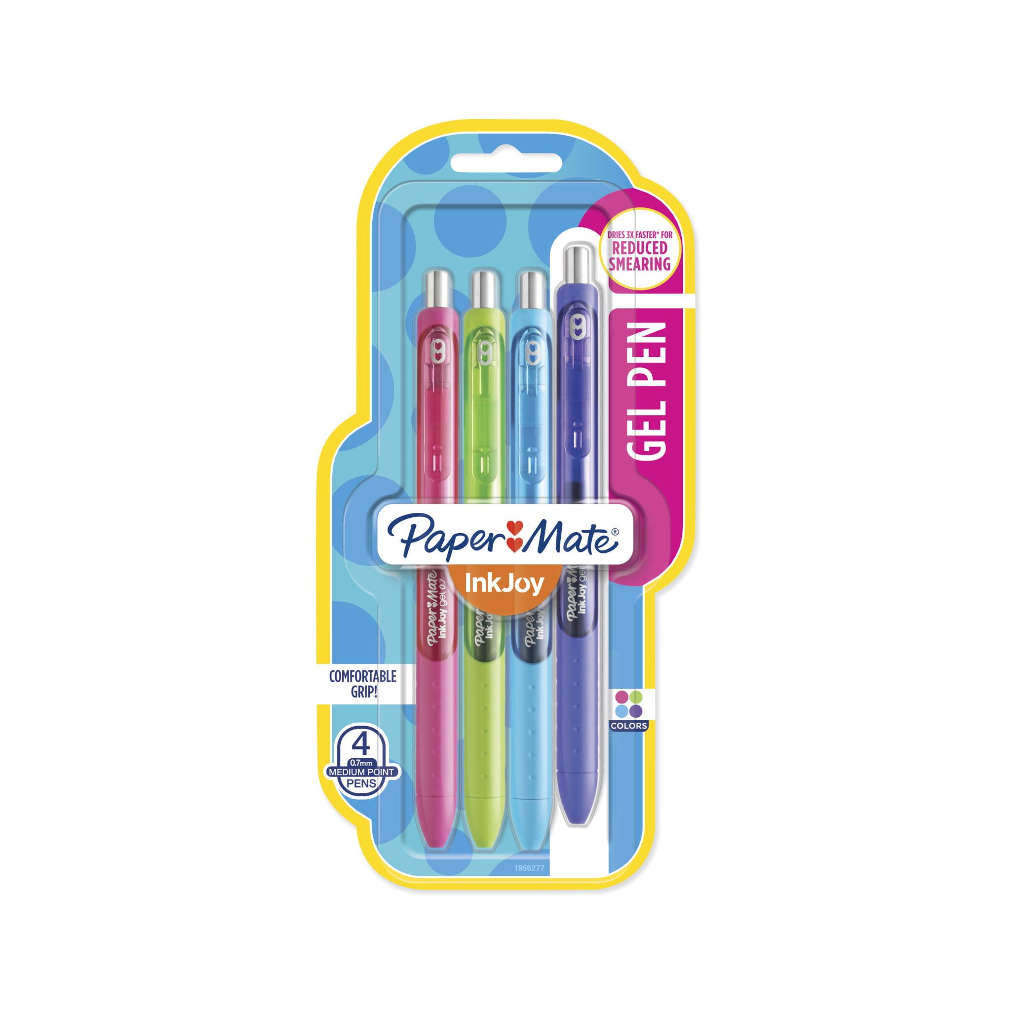 Paper Mate® InkJoy® Gel Pens, Medium Point, Assorted, 4 Pack