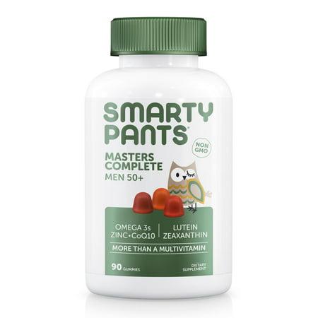 SmartyPants Masters Complete Men 50+, Multivitamin Gummy, 90 ct