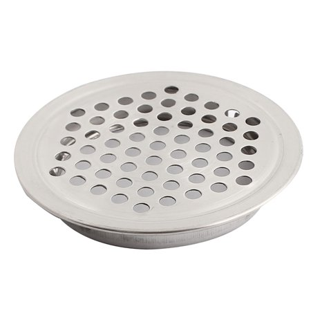 Shoes Cabinet Cupboard 53mm Bottom Dia Air Vent Cover Silver Tone - image 2 of 2