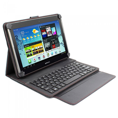 """PC Treasures Power and Keyboard Folio for 10"""" Android Tablet"""