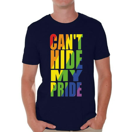 Awkward Styles Can't Hide My Pride T Shirt for Men Gay Shirt Rainbow T Shirt Gay Boy Clothing Gay Rights Gay Mens Shirt Gay Flag T Shirt Rainbow Gay T Shirt Gay Tshirt for Him Gay Pride Tshirt
