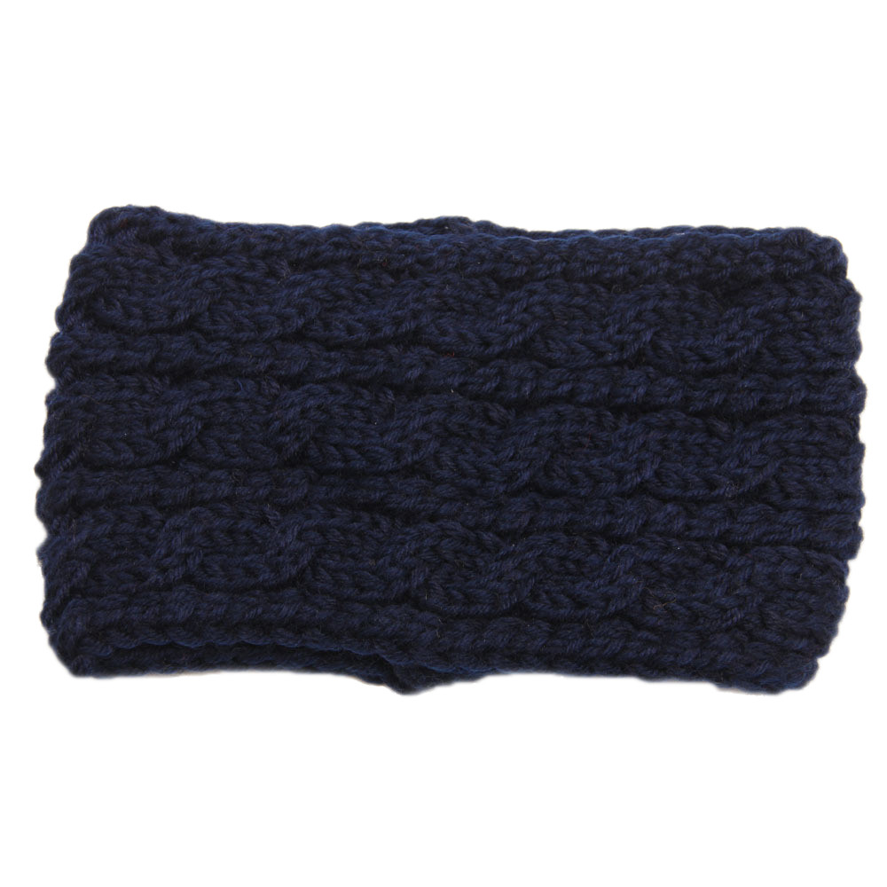 Mosunx Women Knitted Headbands Winter Warm Head Wrap Wide Hair Accessories
