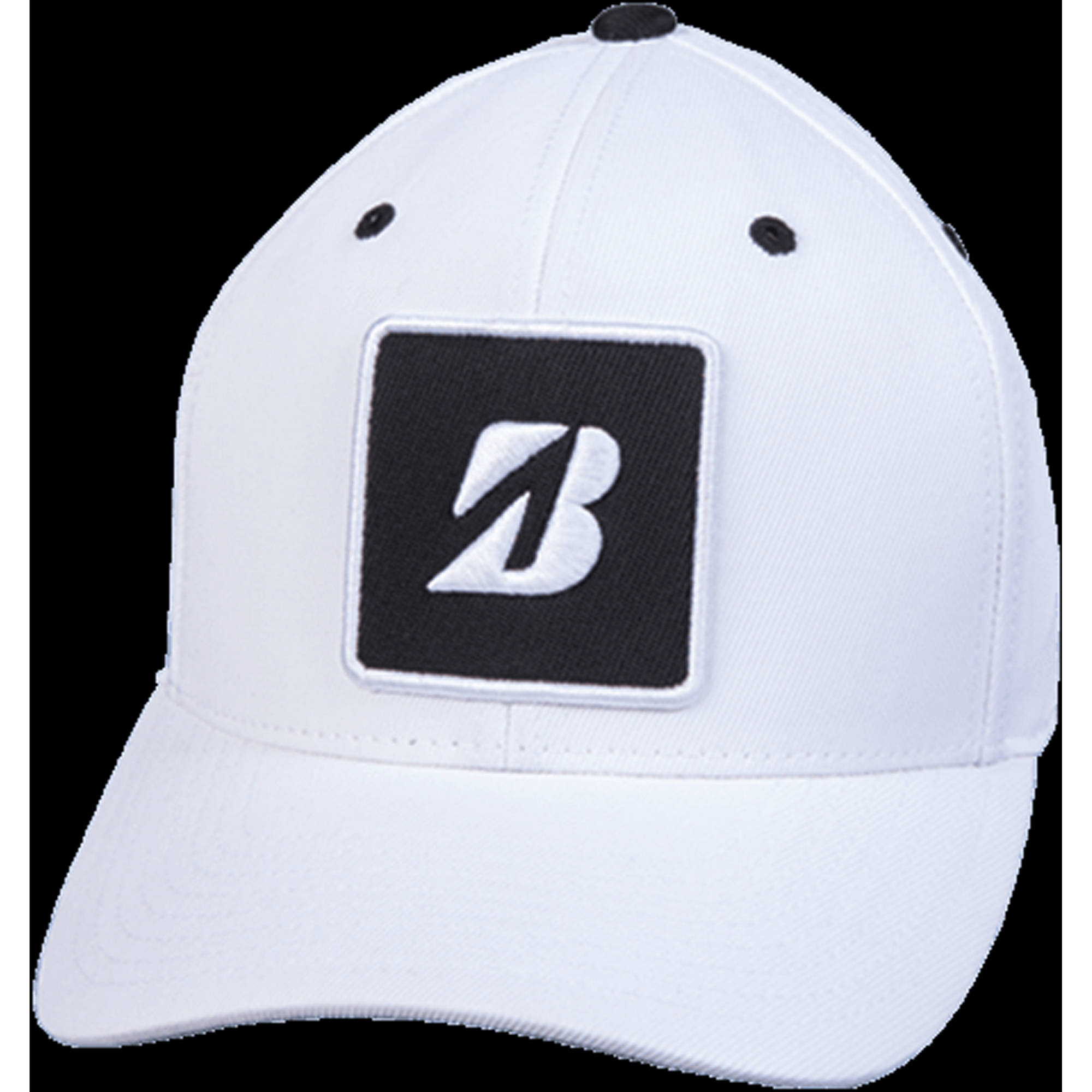 "Bridgestone Golf Couples ""B"" Patch Cap White"