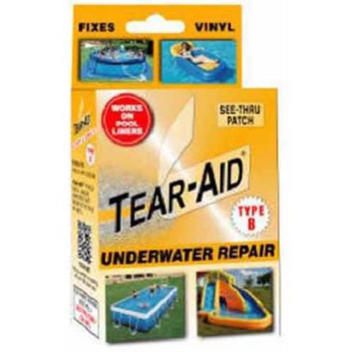 Tear-Aid Vinyl Underwater Kit, Orange, Type B by Generic