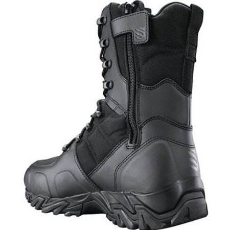 BlackHawk Street Side Zip Boot, Black, 13 M,