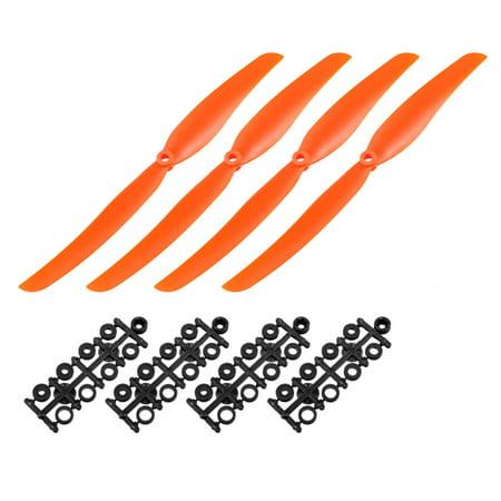 """RC Hélices CW CCW 1060 10""""x6"""" 2-Palette Airplane Jeu Orange 4 Paire Adaptateur - image 3 de 3"""